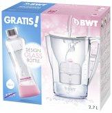 BWT 815046 Penguin White inkl. Myequa Glasflasche