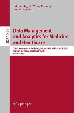 Data Management and Analytics for Medicine and ...