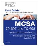 MCSA 70-697 and 70-698 Cert Guide (eBook, PDF)