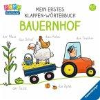 Mein erstes Klappen-Wörterbuch: Bauernhof (Mängelexemplar)