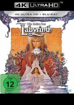 Die Reise ins Labyrinth 30th Anniversary Edition / 4K Ultra HD Blu-ray + Blu-ray