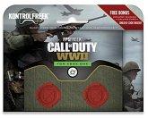 KontrolFreek FPS FREEK COD CALL OF DUTY WWII, Thumb Stick Kappen, für XBOX ONE, rot