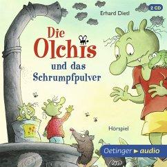 Die Olchis und das Schrumpfpulver / Die Olchis-Kinderroman Bd.11 (MP3-Download) - Dietl, Erhard