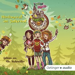 Hochverrat im Internat / Club der Heldinnen Bd.2 (MP3-Download) - Weger, Nina