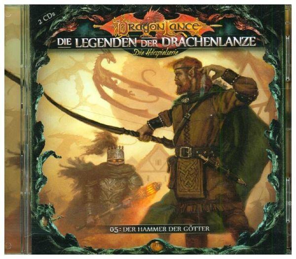 Die Legenden der Drachenlanze - Der Hammer der Götter, 2 Audio-CDs - Holy, David