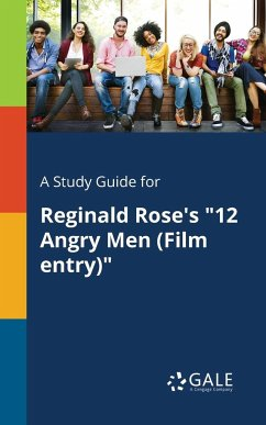 9781375374620 - Gale, Cengage Learning: Reginald Rose´s ´´12 Angry Men (Film Entry)´´ - Book