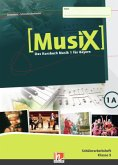 MusiX 1. Schülerarbeitsheft 1A. Ausgabe BG (Bayern Gym Lehrplan Plus)