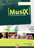 MusiX 1. Schülerarbeitsheft 1B. Ausgabe BG (Bayern Gym Lehrplan Plus)