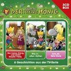 Der kleine König - Hörspielbox, 3 Audio-CDs