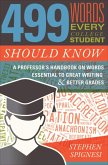 499 Words Every College Student Should Know (eBook, ePUB)