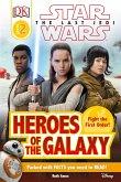 DK Reader L2 Star Wars the Last Jedi Heroes of the Galaxy