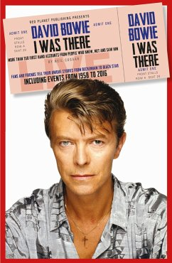 David Bowie: I Was There - Cossar, Neil