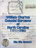 William Churton - Colonial Surveyor of North Carolina
