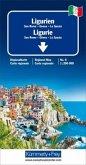 Kümmerly+Frey Karte Ligurien / Ligurie / Liguria Regionalkarte