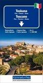 Kümmerly & Frey Regionalkarte Toskana; Toscane; Tuscany. Toscana