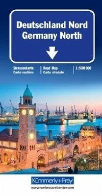 Kümmerly & Frey Karte Deutschland Nord