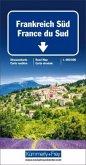 Kümmerly & Frey Straßenkarte Frankreich Süd; France du Sud; Southern France / Francia del Sud