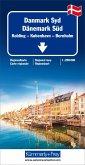 Kümmerly+Frey Karte Dänemark Süd Regionalkarte; Denmark South / Danemark du Sud; Danmark Syd
