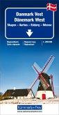 Kümmerly+Frey Karte Dänemark West Regionalkarte