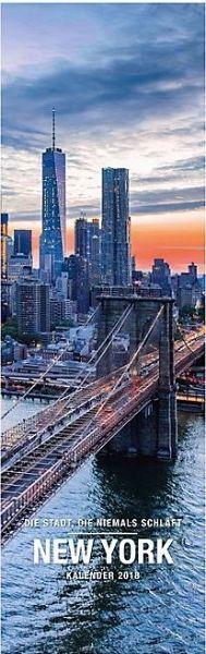 New York Panoramakalender 2018