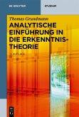 Analytische Einführung in die Erkenntnistheorie (eBook, ePUB)