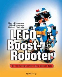 LEGO®-Boost-Roboter - Krasemann, Henry; Krasemann, Hilke; Friedrichs, Michael