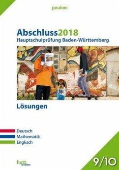 Abschluss 2018 - Hauptschulprüfung Baden-Württe...