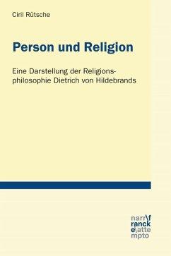 Person und Religion (eBook, PDF) - Rütsche, Ciril