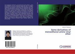 Some derivatives of monoethanol amine vinyl ether
