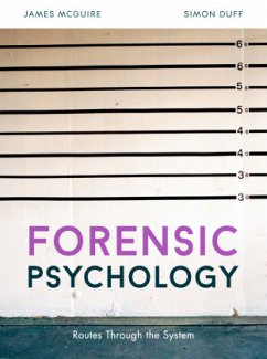 Forensic Psychology - McGuire, James; Duff, Simon