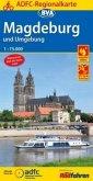 ADFC-Regionalkarte Magdeburg und Umgebung
