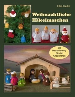Weihnachtliche Häkelmaschen - Selke, Elke