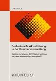 Professionelle Aktenführung in der Kommunalverwaltung (eBook, ePUB)