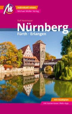 Nürnberg - Fürth, Erlangen MM-City Reiseführer Michael Müller Verlag - Nestmeyer, Ralf