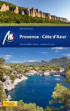 Provence & Côte d'Azur Reiseführer Michael Müller Verlag - Nestmeyer, Ralf