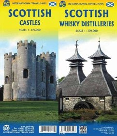 International Travel Map ITM Scottish Castles /...