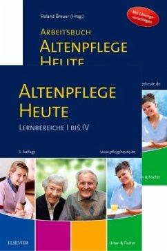 Altenpflege Heute Set mit Arbeitsbuch - Altenpflege Heute, 2 Bde.