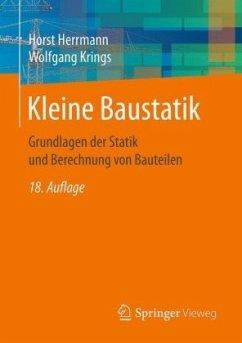 Kleine Baustatik - Herrmann, Horst; Krings, Wolfgang