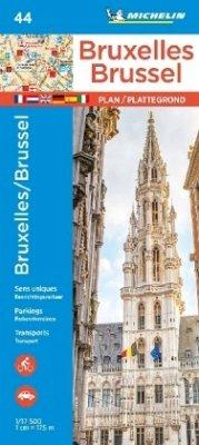 Michelin Karte Bruxelles/Brüssel