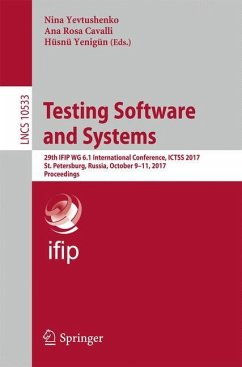 Testing Software and Systems