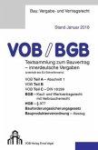 Vergabe- und Vertragsordnung (VOB) für innerdeutsche Vergaben, Ausgabe 2018