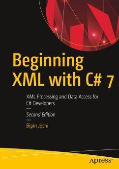 Beginning XML with C# 7 - Joshi, Bipin