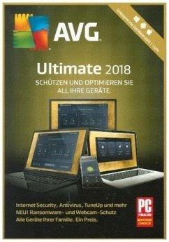 AVG Ultimate 2018 (unbegr. Geräteanzahl/1 Jahr)