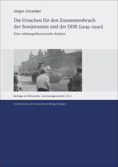 Die Ursachen für den Zusammenbruch der Sowjetunion und der DDR (1945-1990) - Schneider, Jürgen
