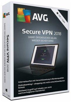 AVG Secure VPN 2018 (1 PC/1 Jahr)
