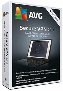 AVG Secure VPN 2018 (1PC/2Jahre)