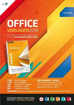 OFFICE Vorlagen 2018 inklusive Videolernkurs Of...