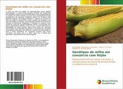 Genótipos de milho em consórcio com feijão