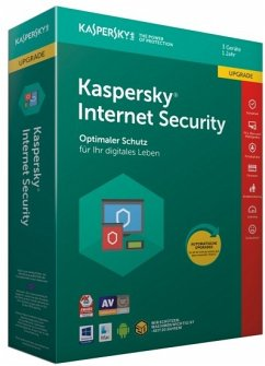 Kaspersky Internet Security 3 Geräte Upgrade (Code in a Box)