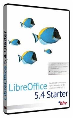 LibreOffice 5.4 Starter, 1 DVD-ROM